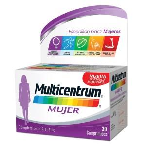 Multicentrum mujer envase de 30 comprimidos