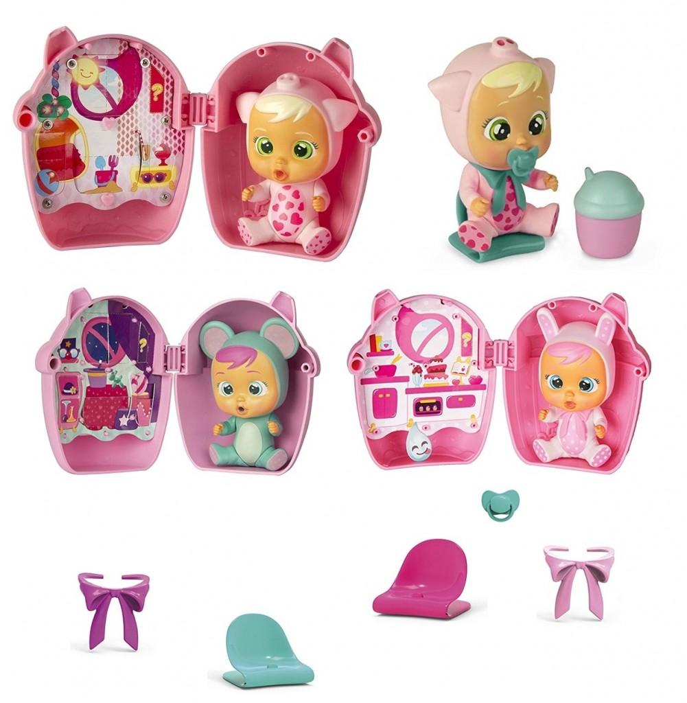 Pack 3 Mini Bebés llorones de ICM Toys muchos modelos diferentes