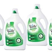 Pack 4 envases de detergente universal líquido Marca Amazon Presto!