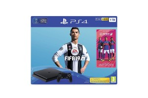 PlayStation 4 1 TB + FIFA 19