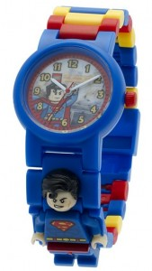 Reloj de pulsera infantil Lego Superman