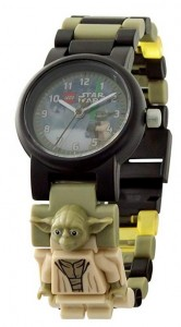 Reloj de pulsera infantil Lego Yoda Star Wars