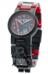 Reloj de pulsera infantil Lego con figurita Darth Vader