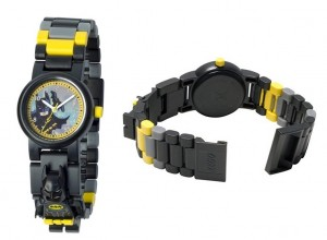 Reloj de pulsera infantil Lego con figurita de Batman