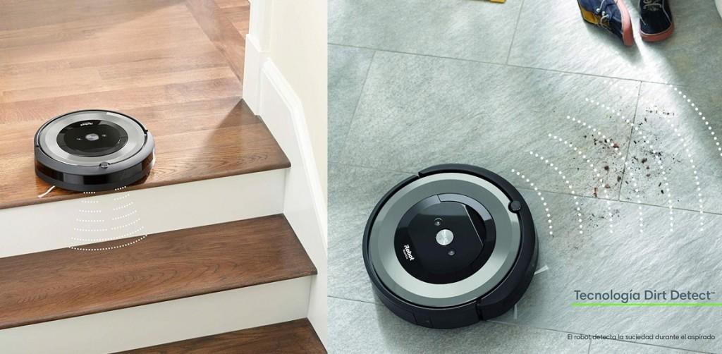 Robot aspirador iRobot Roomba e5154 detalles