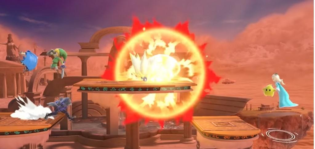 Super Smash Bros. Ultimate escenario