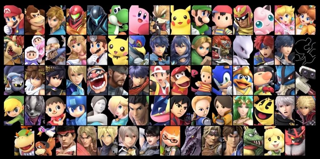 Super Smash Bros. Ultimate luchadores