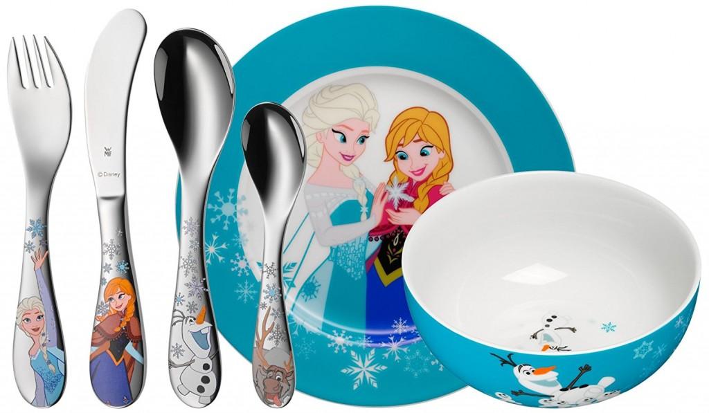 Vajilla infantil de 6 piezas Disney Frozen WMF contenido de la caja