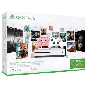 consola Xbox One S de 1TB con 2 mandos