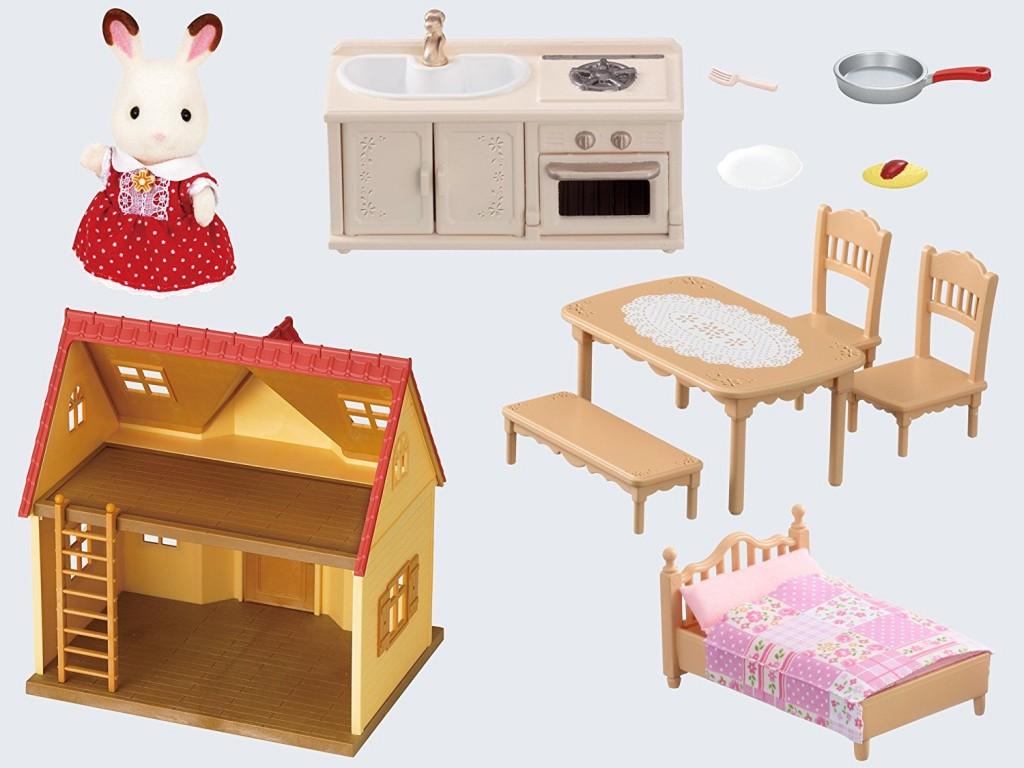 Casa de campo básica Sylvanian Families contenido caja