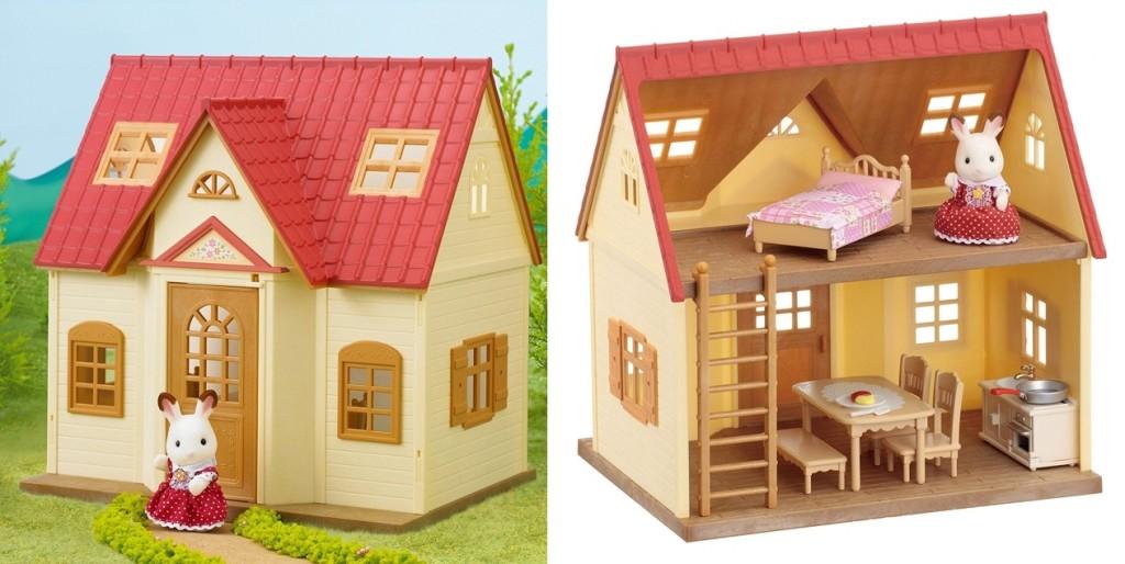 Casa de campo básica Sylvanian Families detalles
