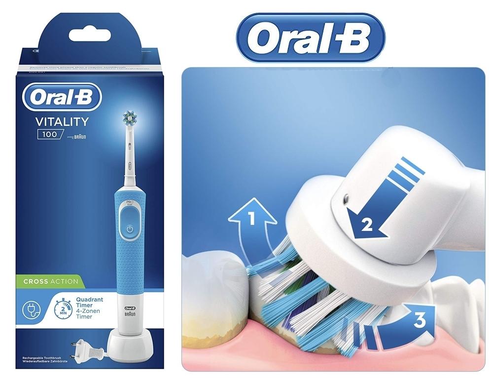 Cepillo Oral-B Vitality 100 CrossAction
