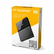 Disco duro externo portátil Western Digital My Passport de 3TB