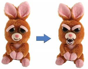 El peluche Conejo Feisty pets