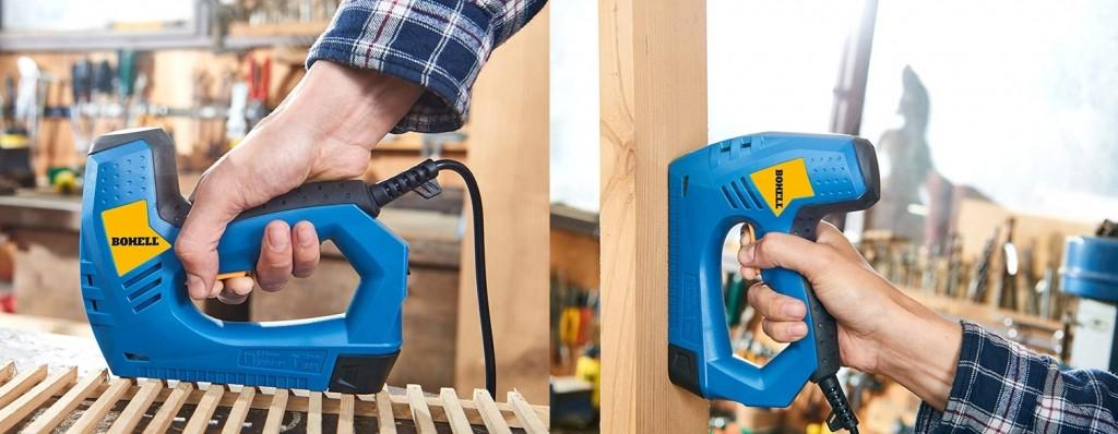Grapadora eléctrica Bohell G123