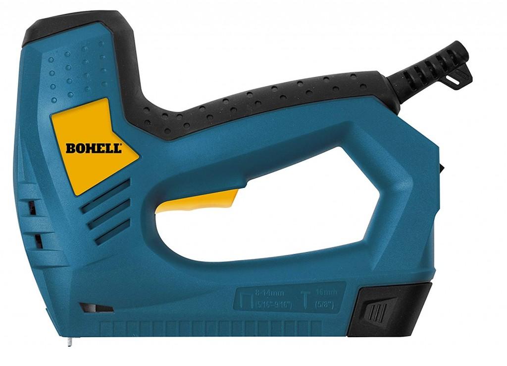 Grapadora eléctrica para grapas y clavos Bohell G123