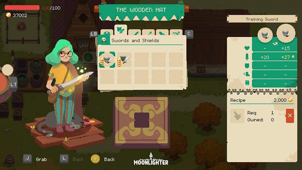 Moonlighter imagen del juego