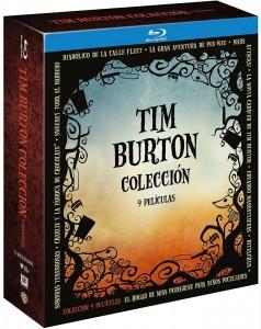 Pack Tim Burton con 9 películas en Blu-Ray