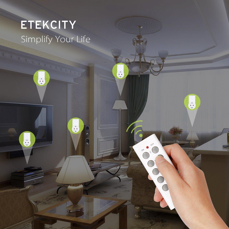 Set Etekcity ZAP 3LX enchufes inteligentes