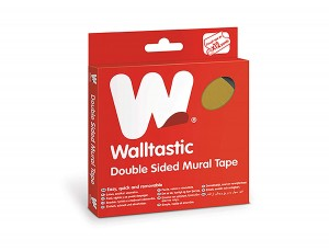 cinta adhesiva de dos caras Walltastic