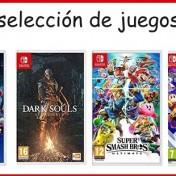 3x2 en selección de juegos Switch