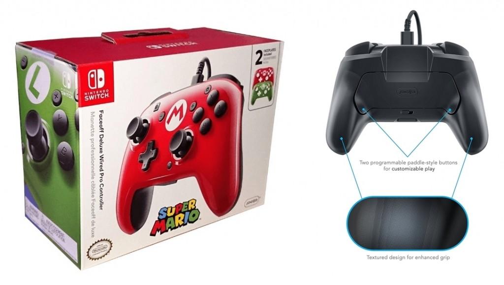 Mando Pro PDP Deluxe Faceoff Mario y Luigi
