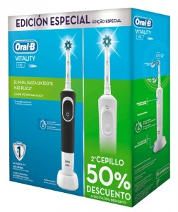 Pack Cepillo eléctrico Oral-B Pack Vitality Duplo
