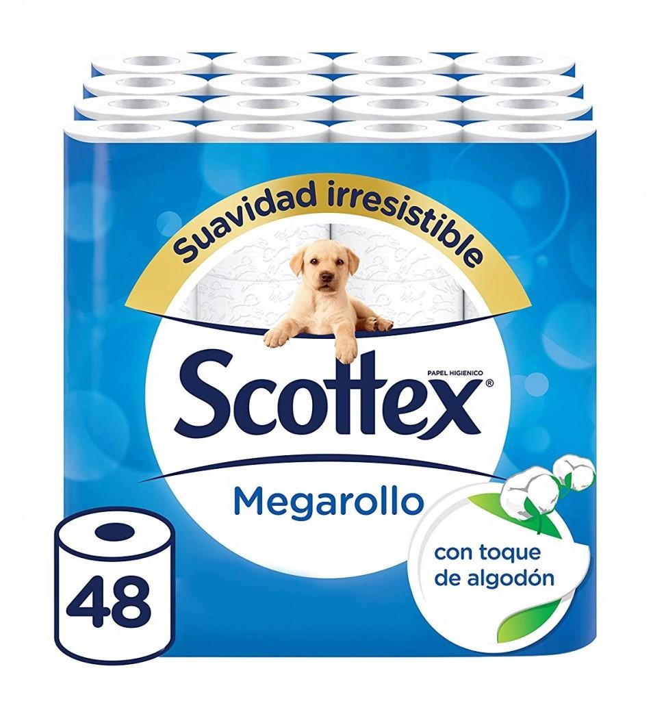 Paquete higiénico Scottex Megarollo