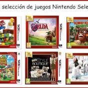 promoción 3x2 en una selección de juegos Nintendo Select 3DS