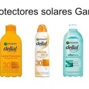 3×2 en protectores solares Garnier Delial