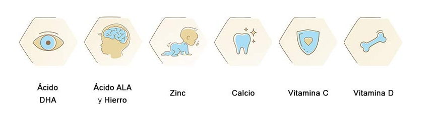 Leche de continuación Enfamil Premium 2 aporta nutrientes necesarios para el bebé