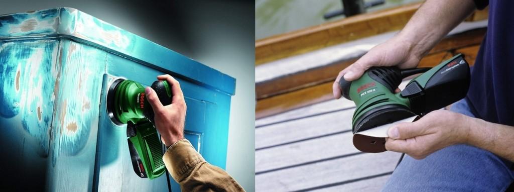 Lijadora excéntrica Bosch PEX 220 A detalles