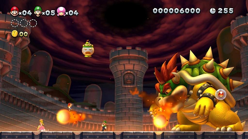 New Super Mario Bros. U Deluxe imagen juego