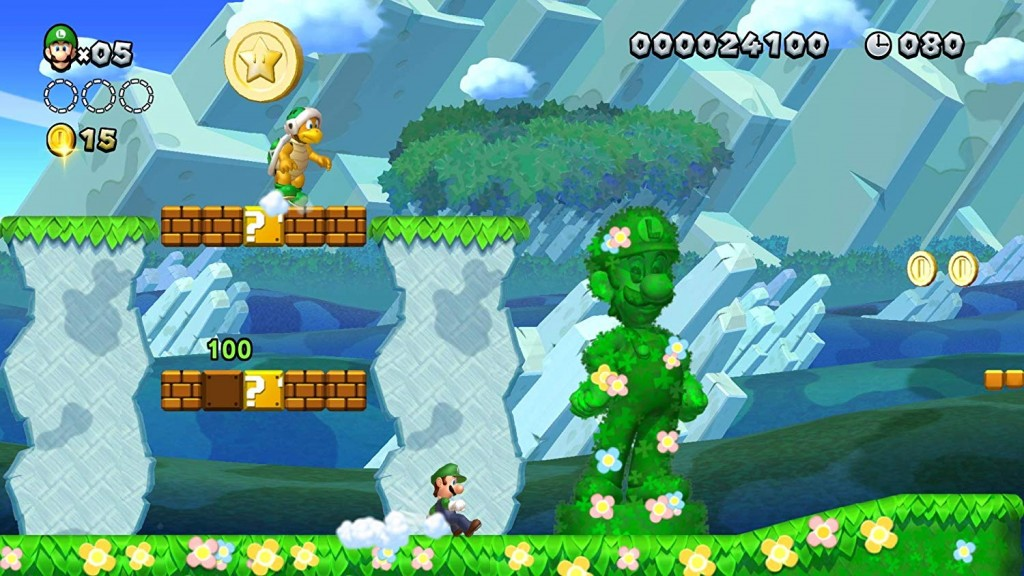 New Super Mario Bros. U Deluxe incluye New Super Luigi U