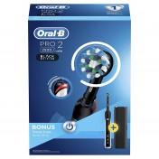 Oral-B PRO 2 2500 CrossAction Black Edition cepillo dientes eléctrico