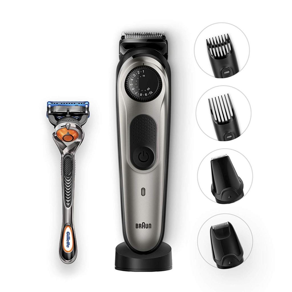 Recortador de barba y cortapelos Braun BT7040