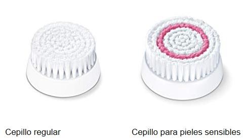 Cepillo facial Beurer FC48 con dos cabezales