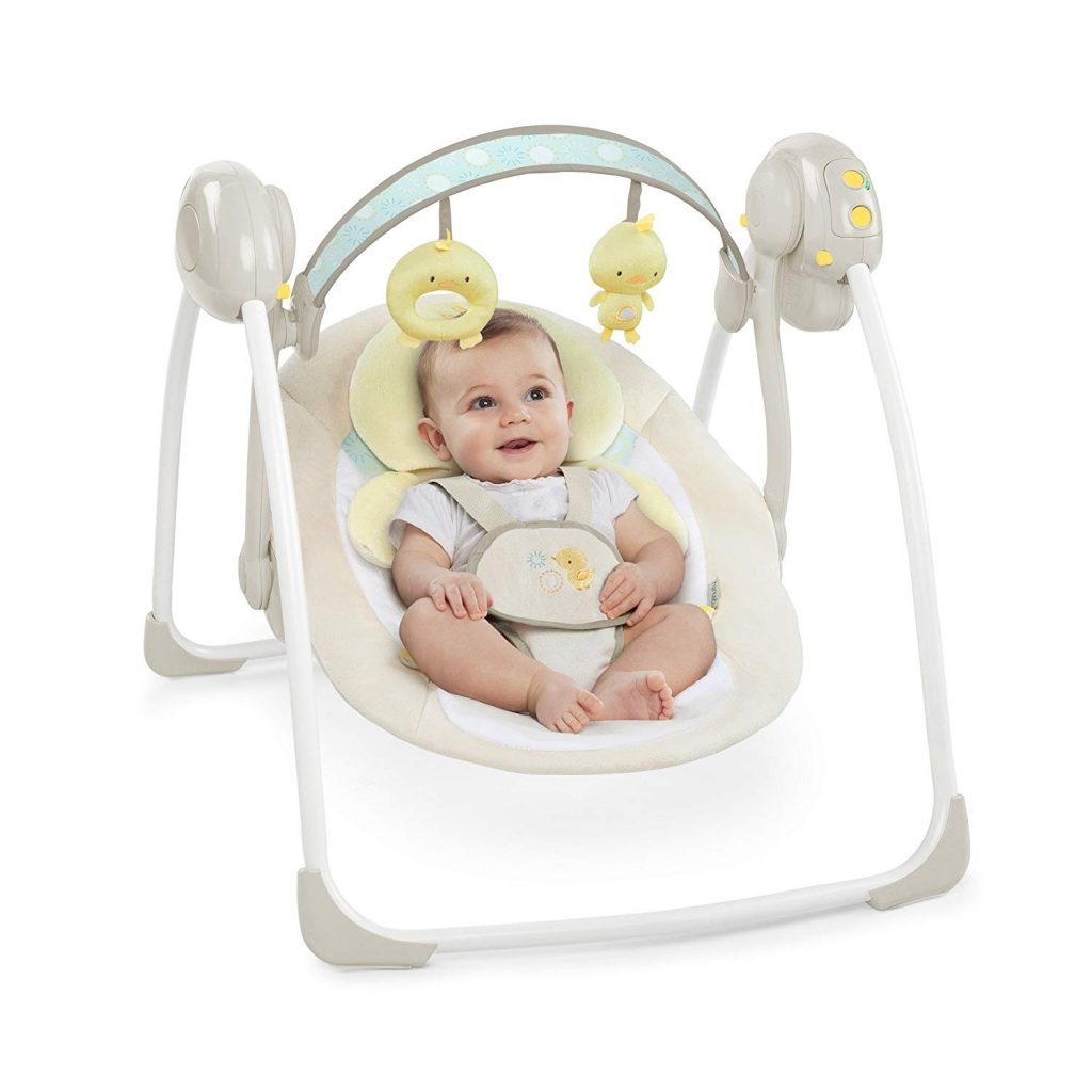 Hamaca columpio Ingenuity Pollito para bebés