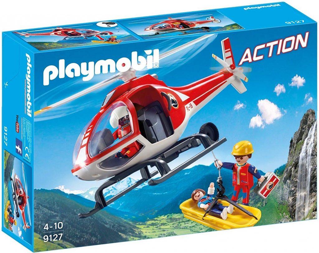 Helicóptero de rescate de montaña Playmobil 9127