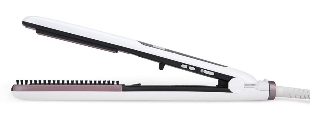 Plancha pelo Rowenta Premium Care Brush & Straight SF7510F0