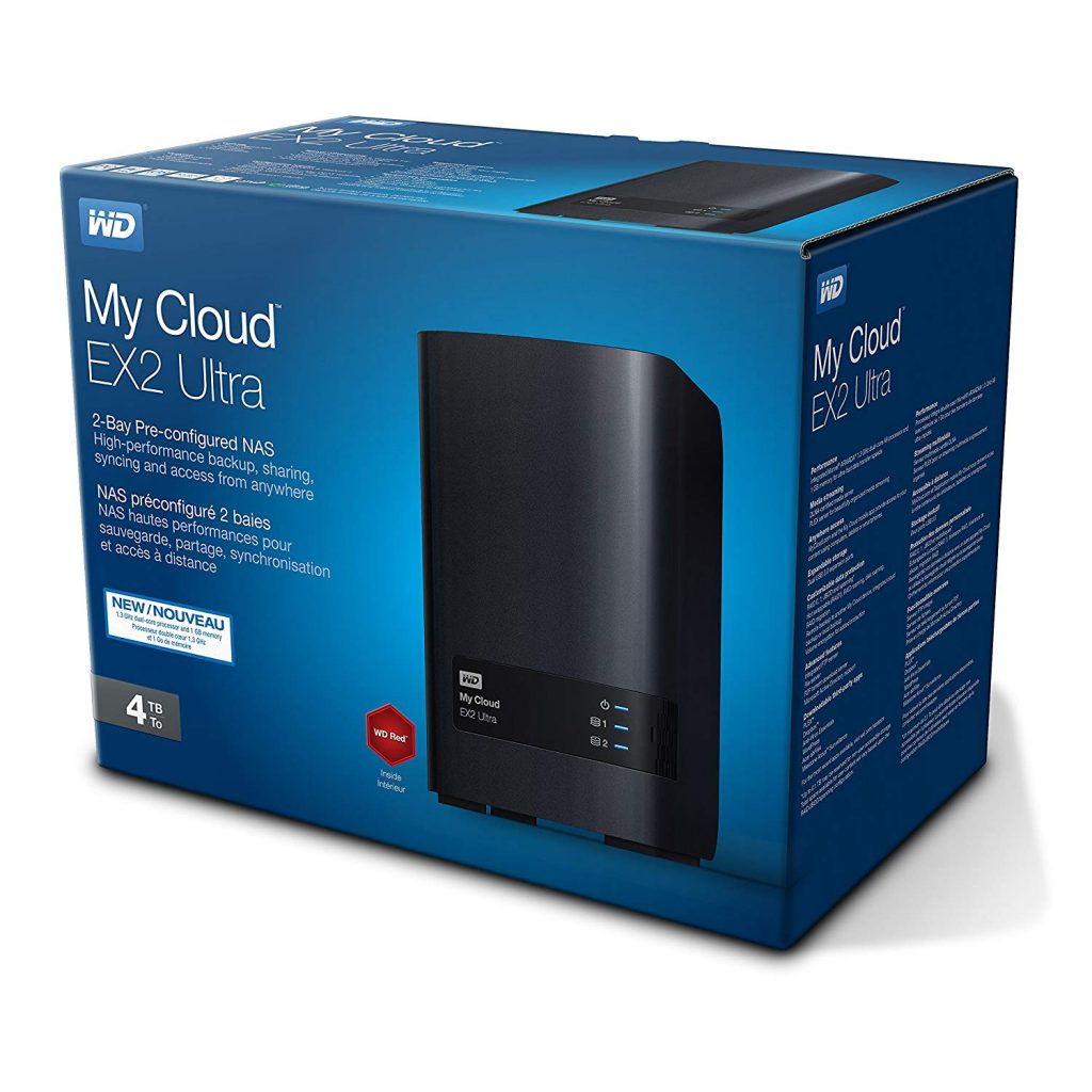 Almacenamiento en red (NAS) Western Digital My Cloud EX2 Ultra 4 TB