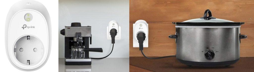 Enchufe inteligente monitorización de energía TP-Link HS110, varios usos