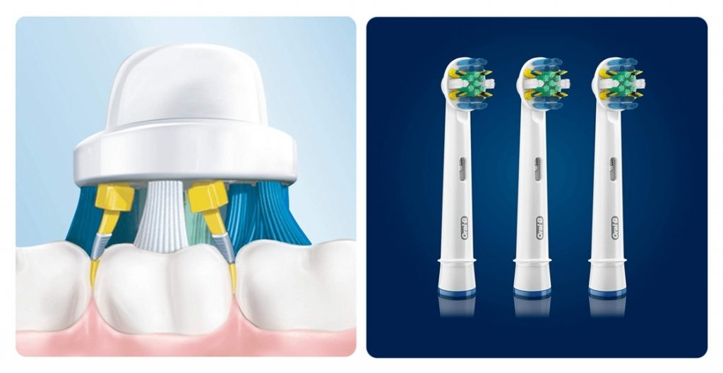 Pack cabezales de recambio Oral-B FlossAction
