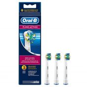 Pack tres cabezales de recambio Oral-B FlossAction