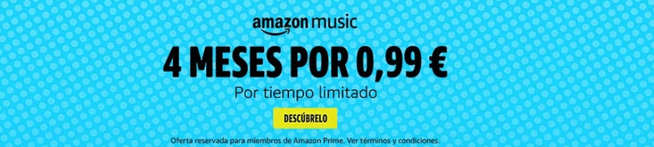Amazon Music Unlimited promoción