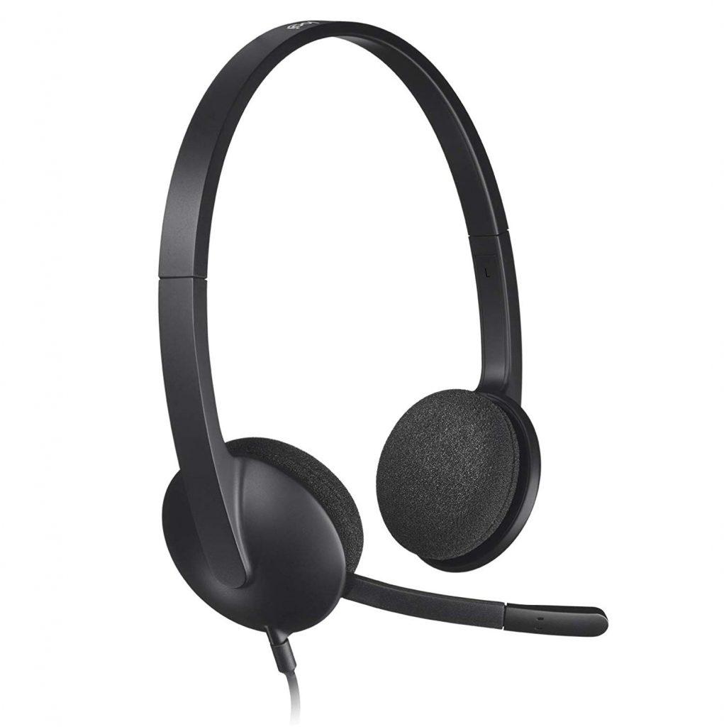 Auriculares con micrófono Logitech H340