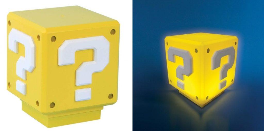 Mini lámpara ambiental Paladone Super Mario Bros con sonido