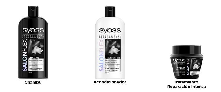 Pack regalo Syoss Salon Plex, contenido más el cepillo