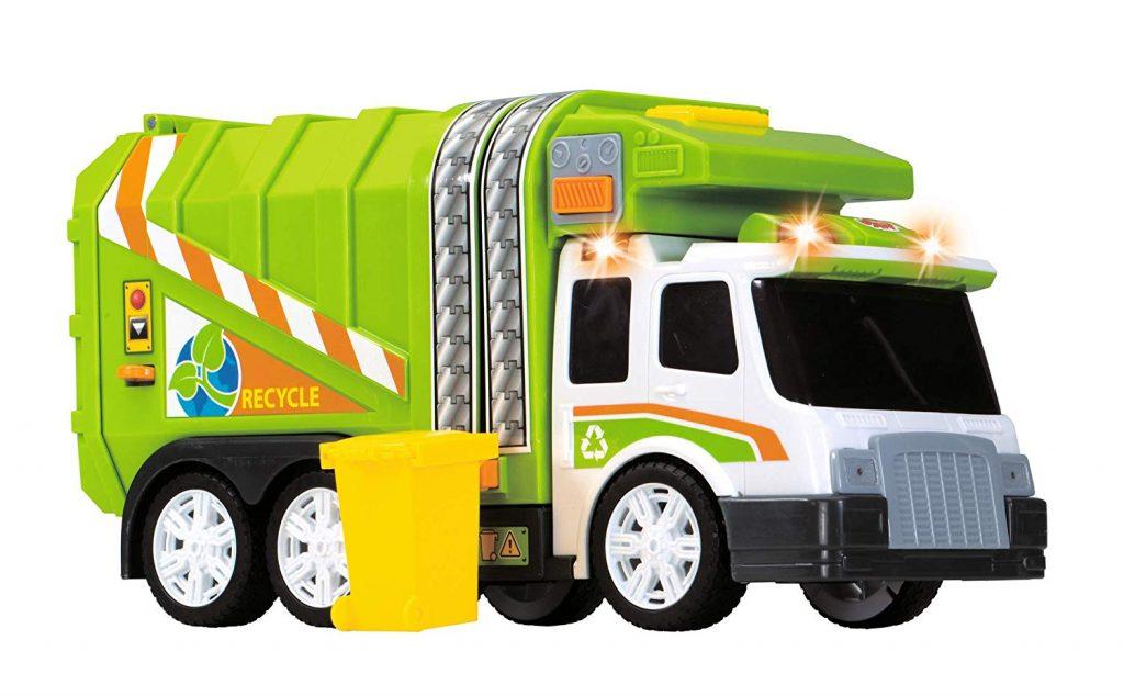 Camión de basura con luz y sonido Dickie