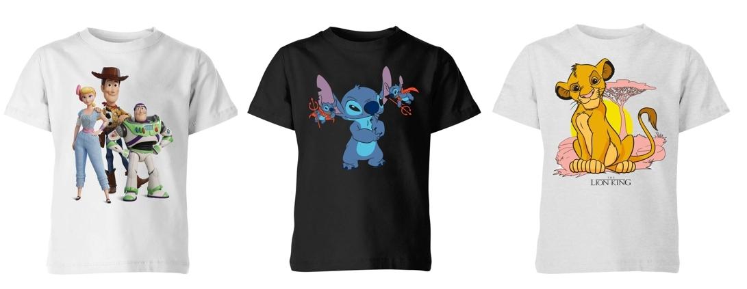 Camiseta Disney para niños